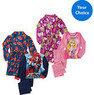 Kids' License Character 3-Pc. Robe Set