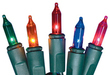 Holiday Living 100-Count Multicolor Christmas Lights