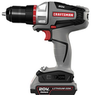 Craftsman Bolt-On 20 Volt Max Lithium Ion Drill/Driver Kit