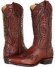 Frye Billy Firebird Burnt Red Vintage Tumbled Boots