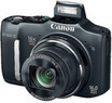 Canon Black PowerShot 16MP 16x Optical Zoom Digital Camera