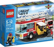 Two LEGO City Fire Trucks