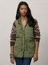 Women's Sweater-Sleeved Field Jacket