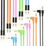 5-ft. 3.5mm Auxiliary Cable, 4 Pack