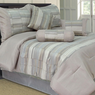 Lavish Home 7-Pc. Wam Jacquard Queen Comforter Set
