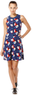 Women's Floral Drop Waist Dress