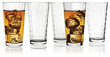 LivingQuarters Vortex Cooler Glasses Set, 10-Pc.