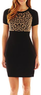 Worthington Women's Contrast Sweater Dress