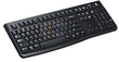 Logitech K120 Black USB Wired Standard Keyboard