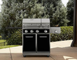 Kenmore 4-Burner Gas Grill with Split Lid