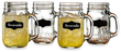 Yorkshire 17.5-oz. Chalkboard Mason Jar Glass 4-Pack