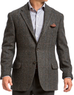 Allen Edmonds Men's Windowpane Wool Sport Coat