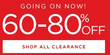 Kohl's - 60-80% Off Gold Star Clearance Event + Free Shipping