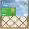 NaturalAire 16x25 Pleated Air Filter, 12 Pack