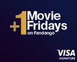 Movie Tickets: Buy 1, Get 1 Free w/ Visa Signature
