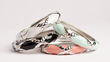 GroopDealz - 62% Off Criss Cross Enamel Bangle + Free Shipping