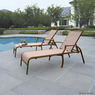 Mainstays Sand Dune Chaise Lounges, Set of 2
