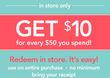 Carter's - $10 Back w/ Rewards Program (In Stores)
