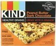 3-Pk of 5-Ct Box of Kind Bars, Peanut Butter Dark Chocolate