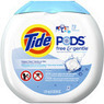 Tide PODS Free & Gentle HE Laundry Detergent, 72 Count