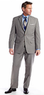 MICHAEL by Michael Kors Men's Window Pane Suit