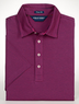Men's Classic-Fit Striped Lisle Polo