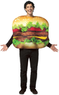Totally Ghoul Mens'Cheeseburger Halloween Costume