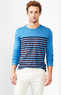 Men's Essential Engineer Stripe Long-Sleeve T-Shirt