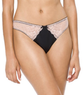 Gilligan & O'Malley Women's Satin and Lace Thong