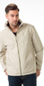 London Fog Men's Moto Dobby Hipster Coat