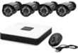 LaView 4-Channel D1 Security DVR Cloud Security System