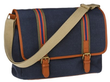 Men's Lyndale Navy Messenger Bag