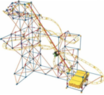 K'NEX Hyperspeed Hangtime Roller-Coaster Building Set
