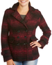 Women's Essential Double Breasted Wool Blend Peacoat