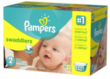 Three Pampers Swaddlers Diapers Giant Packs + $25 Gift Card