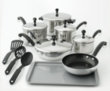 15-Pc Farberware Cookware Set + $15 in Kohl's Cash