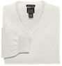Men's Signature Cotton V-Neck Sweater