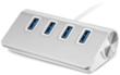 4-Port USB 3.0 Desktop Hub for Mac or PC