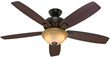 Hunter 54 Premier Bronze Ceiling Fan w/ Remote (Refurb)