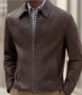 Men's Executive Vintage Suede Jacket