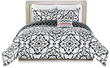 Tilework 5-Piece Reversible Queen or King Comforter Set