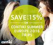 STA Travel - 15% Off Contiki Tours