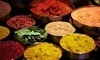 Take a Spice Tour of India and Beyond Over a Vegetarian Lunch Coupons Gaithersburg, Maryland Deals