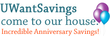 UWantSavings.com Coupons